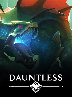 <i>Dauntless</i> (video game) upcoming free-to-play action role-playing video game developed by Phoenix Labs