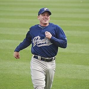 David Eckstein - Eckstein with the San Diego Padres