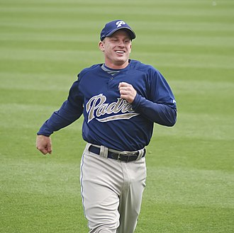 David Eckstein - Eckstein with the San Diego Padres
