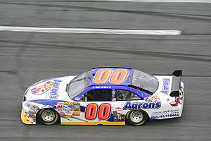 David Reutimann - Sprint Cup car Reutimann drove first five races of 2008