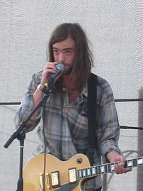 David Vandervelde playing at the 2007 Lollapal...