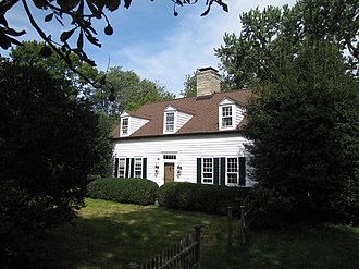 National Register of Historic Places listings in Stamford, Connecticut - Image: Deacon John Davenport House