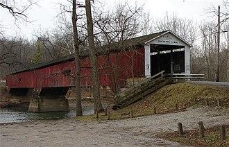 Deer's Mill, Indiana - Deer's Mill Covered Bridge