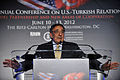 Defense.gov News Photo 120611-D-NI589-229 - Secretary of Defense Leon E. Panetta delivers the keynote address at the 31st American Turkish Council Conference Dinner in Washington D.C. on June.jpg