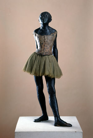 Skulpturensammlung - Edgar Degas, Little Dancer of Fourteen Years