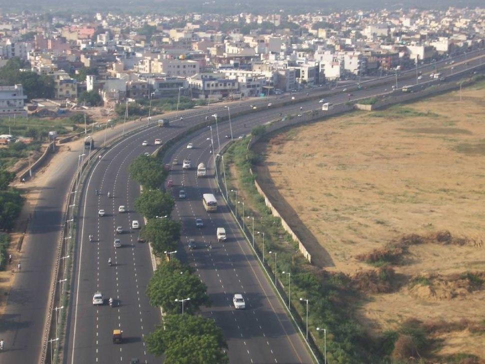 Delhi-Gurgaon Airport Expressway, 2007