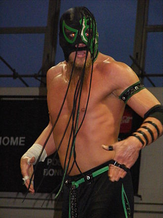 Delirious (wrestler) - Delirious in May 2009