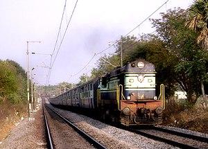Fast Passenger - Image: Delta Passenger with WDM 2 loco
