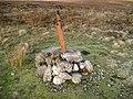 Demolished Triangulation Pillar on Creuch Hill - geograph.org.uk - 331089.jpg