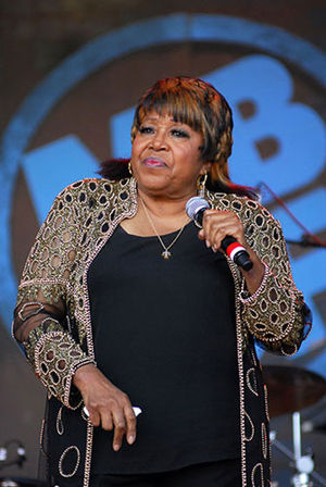 Denise LaSalle - Denise LaSalle performing at the 2009 Monterey Blues Festival.