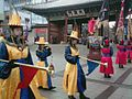 Deoksugung Changing of the Guard Reenactment - palace bands 1.jpg