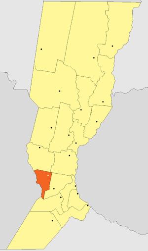 Belgrano Department, Santa Fe - Image: Departamento Belgrano (Santa Fe Argentina)