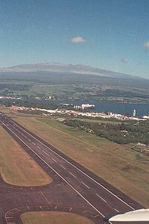 airport in Hilo, Hawaii