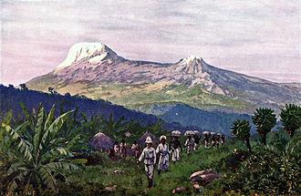 Mount Kilimanjaro - Kilimanjaro in 1911