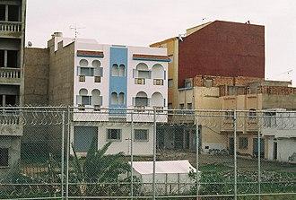 Beni Ansar - Image: Der Zaun