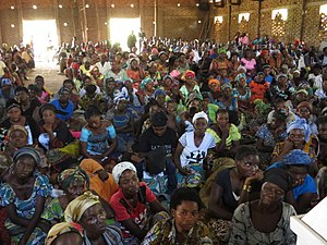 Christianity in Burundi - Farewell mass in Bujumbura