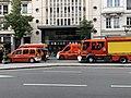 Des pompiers, avenue Berthelot (Lyon), en marge d'une manifestation de gilets jaunes (2).jpg