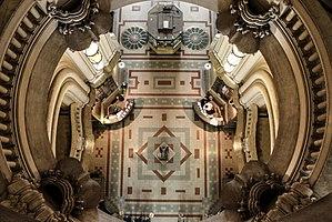 Palacio Barolo - Image: Desde el cenit