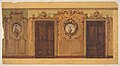 Design for a room with double doors decorated with garlands of fruit and flowers, scrolls, and lattice work MET DP811574.jpg