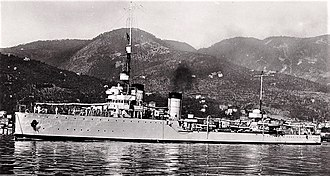 Attack on Convoy BN 7 - Image: Destroyer Pantera