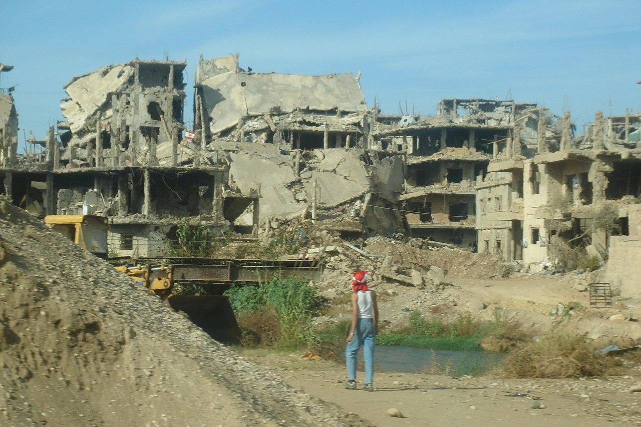 Destruction at Nahr el Bared. Lebanon (2125999735).jpg