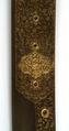 Detalj klingsignering-dekor sabel, Bethlen Gabor - Livrustkammaren - 22531.tif