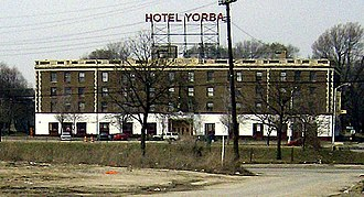 Hotel Yorba - The Hotel Yorba from Fort Street.
