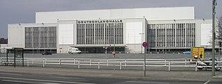 Deutschlandhalle Architectural structure