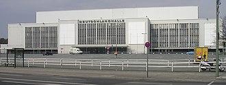 EuroBasket 1993 - Image: Deutschlandhalle