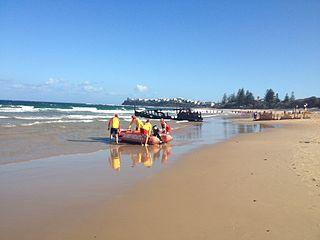 Dicky Beach, Queensland Suburb of Caloundra, Queensland, Australia