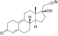 Struktur von Dienogest