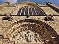 Dinan - Basilique Saint-Sauveur (façade).JPG