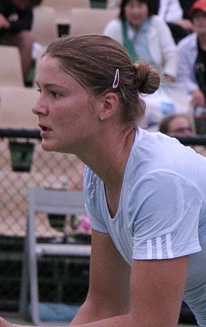 Dinara Safina - Safina at the 2007 Australian Open