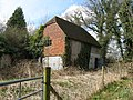 Disused outbuilding at the rear of Old Middleton - geograph.org.uk - 1766489.jpg
