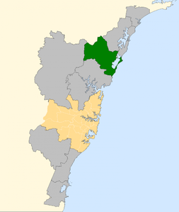 Division of Dobell 2007.png