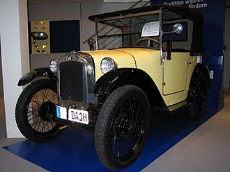 BMW Dixi - Image: Dixi 3 15 DA (1929)