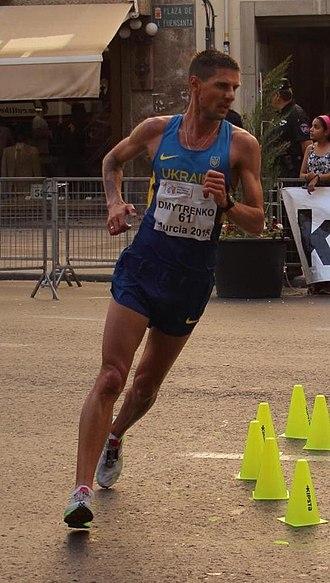 Ruslan Dmytrenko - Dmytrenko at the 2015 European Cup Race Walking.