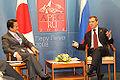 Dmitry Medvedev at APEC Summit in Peru 22-23 November 2008-4.jpg