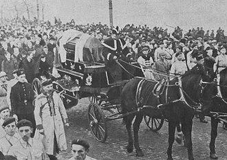 Roman Dmowski - Funeral procession