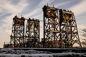 Dock Bridge - Amtrak Dock Vertical Lift bridge.