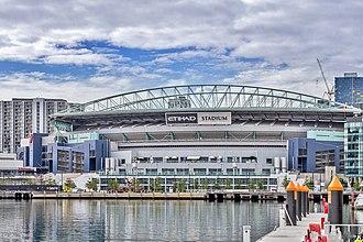 AFL Draft Combine - Docklands Stadium where the AFL Draft Combine is held.