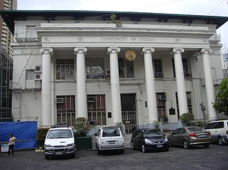 Department of Justice (Philippines) - Image: Dojjf