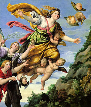 Domenichino - The Assumption of Mary Magdalene...