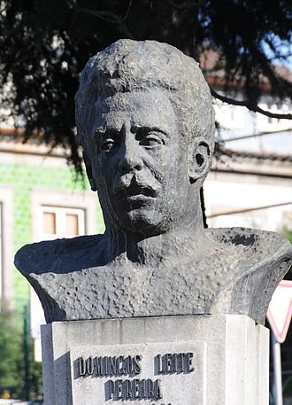 1882 in Portugal - Bust of Domingos Leite Pereira, Prime Minister of Portugal
