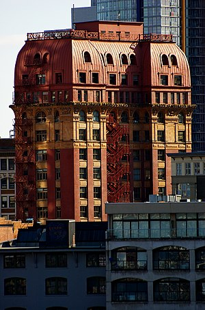 Dominion Building - Image: Dominion Building from Canada Place, Vancouver