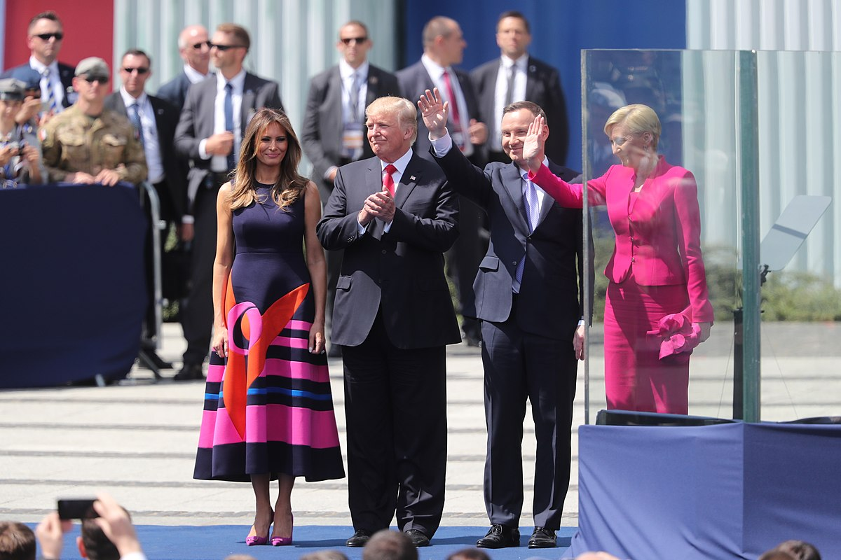 President and Melania Trump