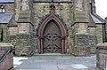 Doors of main entrance, St Michael's, Garston.jpg