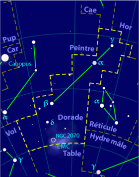 Image illustrative de l'article Dorade (constellation)