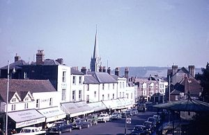 Dorking - South Street in Dorking in about 1959