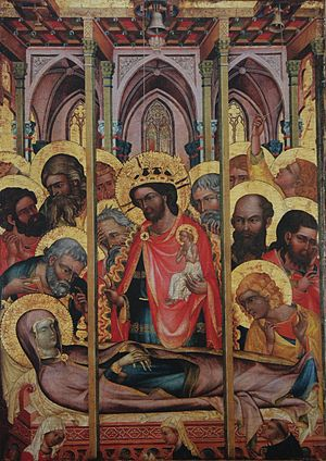 Dormition of the Virgin from Košátky.JPG